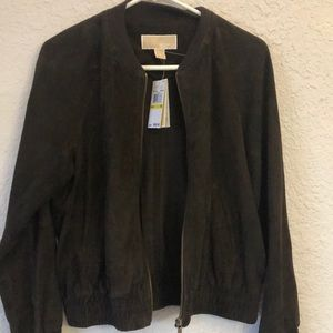 Michael Kors Suede Jacket